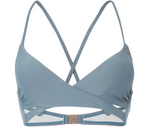 Bikini Oberteil 'Baay Mix' taubenblau