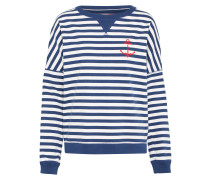 Sweatshirt 'Marge' navy / weiß