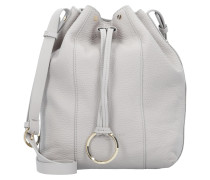 Bucket-Bag 'Pebble' hellgrau