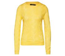 Pullover 'vmpeta LS' gelb