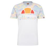 T-Shirt 'arbatax' mischfarben / weiß