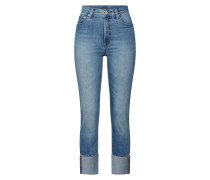Jeans 'HR Cigarette RAW High Cuff Med' indigo