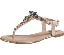 Sandale beige / blau