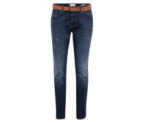 Jeans mit Gürtel blue denim / dunkelblau