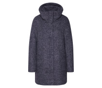 Mantel hellgrau / graumeliert
