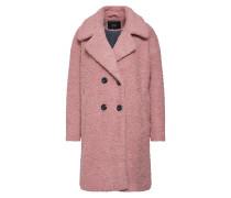 Mantel rosé / schwarz