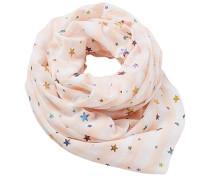 Schal mischfarben / rosa / weiß