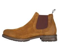 Chelsea-Boots dunkelbraun / honig
