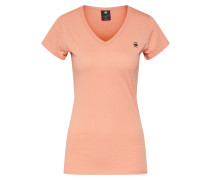 Shirt 'Eyben V' pastellorange