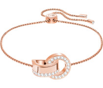 Armband 'Hollow M' rosegold