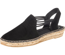 Sandalen 'Nuria' schwarz