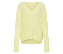 Pullover 'micro Lace Mouline V NK Swtr'