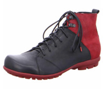 Stiefel schwarz / rot