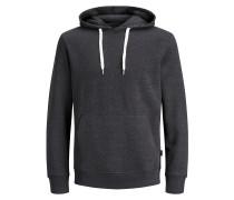 Lässiges Sweatshirt graumeliert