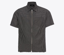 Hemd 'short-Sleeve Shirt With A Classic Collar AND Zip'