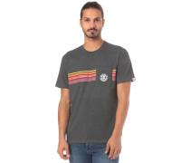 T-Shirt 'Dawn Pocket' anthrazit