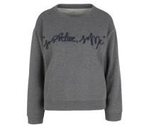 Sweatshirt dunkelblau / dunkelgrau