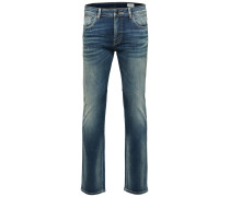 Slim-Fit- Jeans blau
