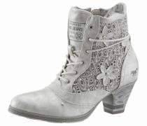 Shoes Schnürstiefelette silbergrau