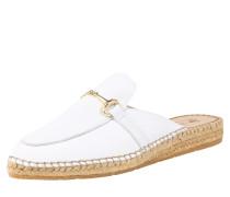 Slipper 'ima6' beige / weiß