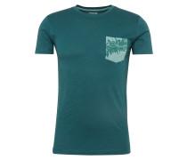 T-Shirt 'cn slub pkt ss' tanne
