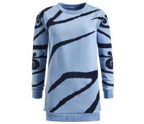 Sweatshirt 'malisa' hellblau / dunkelblau