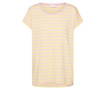 Shirt 'Dreamers' gelb / rosa