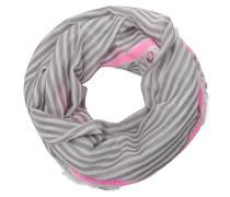 Loop hellgrau / grau / pink