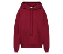 Sweatshirt 'unbasic' Hoodie' rot