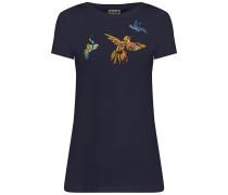 T-Shirt nachtblau / mischfarben