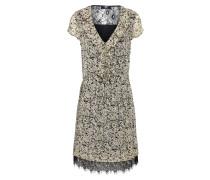 Kleid 'eliza' schwarz / weiß