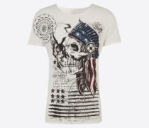 T-Shirt 'MT Indian Skull round'