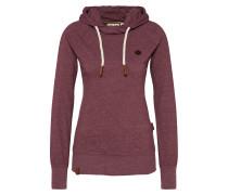 Sweatshirt 'Mandy' bordeaux