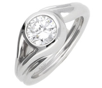 Damen Fingerring Glamour Solitaire 'esrg92036A'