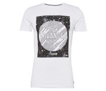 T-Shirt 'crewneck with wording'