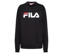 Sweatshirt 'Pure' rot / schwarz / weiß