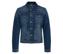 Klassisches Jeansjacke blau