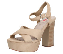 Sandalette 'amazonas' beige