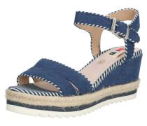 Sandale 'eden' sand / dunkelblau