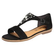 Sandale 'comfy' schwarz