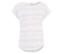 Shirt 'Holly' schwarz / weiß