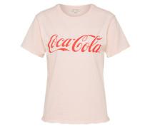 T-Shirt 'coke Tee' rosa