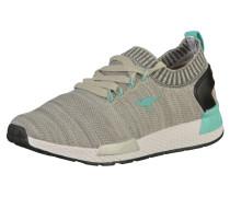 Sneaker creme / türkis / grau