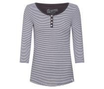 Shirt anthrazit / weiß