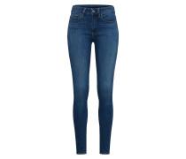 Jeans '3301 High Skinny' blue denim