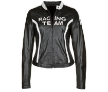 Lederjacke Racing Team