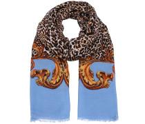 Schal 'Tiberina' beige / blau / braun