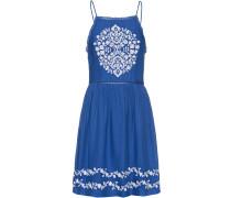Kleid 'Katalina Apron' blau / weiß