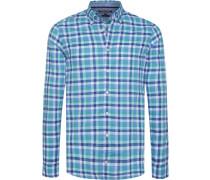 Hemd blau / türkis / mint