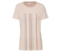 Shirt 'Teblurred' rosa